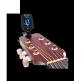 Afinador De Guitarra O Bajo Lcd Digital Cromatico