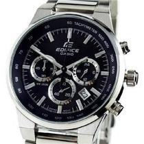 Reloj Casio Ef-500bp-1a Water Resistant Acero Inoxidable