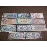 Ecuador, Coleccion De Billetes Usados 5 A 50.000 Sucres