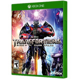 Transformers Rise Of The Dark Spark Xbox One -juego Físico