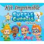 Kit Imprimible Bubble Guppies + Candy Bar Cumples Y Mas Ec