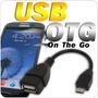 Cable Micro Usb A Usb Hembra Para Samsung Galaxy Smart Phone