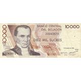 Ecuador,  Billetes De 10000 Sucres 1.995-96