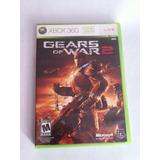 Gears Of War 2 Xbox 360 Original Excellente Estado Completo