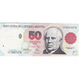 Argentina Antiguo Billete 50 Pesos.1993 Unc