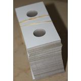 Cartones P/ Monedas Tamaño 5 Cents ,100 Protectores