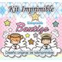 Kit Imprimible Bautizo Candy Bar Invitaciones Souvenirs