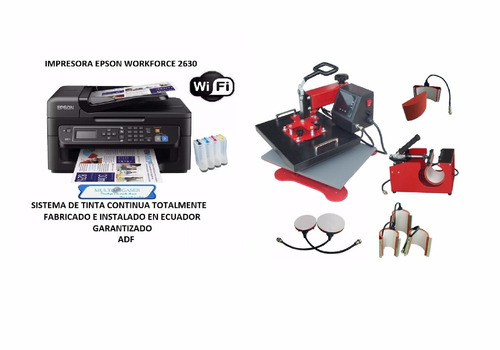 Impresora+sublimadora 8 En 1 Garantía De 1 Año Promoción
