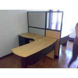 Estacion De Trabajo En L De 1.50m X 1.50m X 0.60m Oficina
