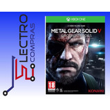Xbox One Metal Gear Solid V Ground Zeroes-nuevo