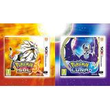 Pokemon Sol / Pokemon Luna Juego 3ds Fisicos Sellados Origin