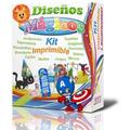 Kit Imprimible Legendario Invitaciones Tarjetas Recuerdos