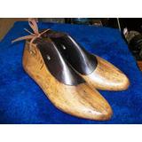 Antigua Horma De Madera Para Confeccionar Zapatos