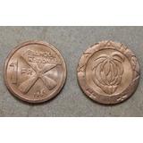 Katanga Africa 1 Franco 1961 Moneda Nueva