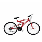 Bicicleta Gti Aro 26 Doble Suspensión I.iva Frenos Disco