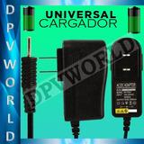 Cargador Pared Tablet Pc  2.0 Amp Pin 2.5 Mm Universal 7/8/9