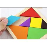 Juego Puzzle De Agilidad Mental:tangram Torre De Sabiduría