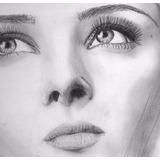 Retratos A Carboncillo Y Lapiz