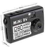 Mini Camara Espia  Hd De 5 Megapixeles