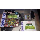 Tortugas Ninja: Fall Of The Foot Clan (gameboy) Cib Nintendo