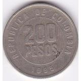 Moneda De Colombia! 200 Pesos 1995