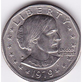 Estados Unidos! One Dollar 1979 D - Susan B. Anthony