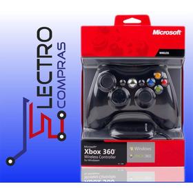 Control Xbox 360 Y Pc+receptor, Inalambrico/original/sellado