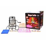 Bingo Lotto Con Bola Rueda De Loteria 90 Numeros