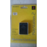 Memory Card Sony Ps2 Playstation 2 Original Sellada
