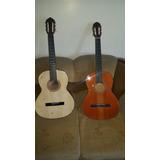 Guitarra Acustica De Pino Y Caja En Cedro