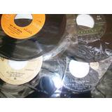 Música En Ingles, En Discos De Acetato 45 Rpm, Buen Estado