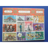 Coleccion De Estampillas Tailandia
