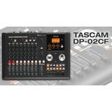 Portastudio Digital  Tascam  Dp-02cf Con Tarjeta Y Manual
