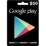 Tarjeta De Recarga 50 Usd Para Google Play Store