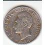 Ecuador, Antigua Moneda De Plata 50 Centavos 1928 (laurita)