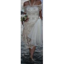 Vestido De Novia Tejido Matrimonio Boda
