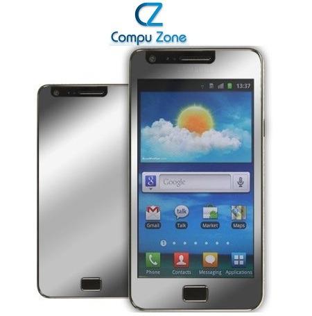 Mica Tipo Espejo Para Samsung Galaxy S2 I9100 + Paño