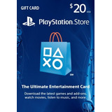 Tarjetas Prepago Playstation Network Card Usa Psn  $20