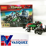 Carro Armable Super Heroes Spiderman Tipo Lego 237pcs