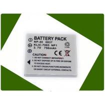 Bateria Recargable Klic-7005 Para Camaras Digitales Varias