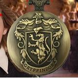 Reloj Collar Casa Gryffindor Harry Potter De Colección