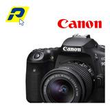 Canon 90d  Video 4k 32.5mp  10 Fps Lente 18-135mm