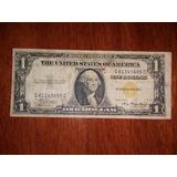 Billete De Un Dólar, Sello Amarillo De 1935