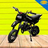 Moto De Niño A Gasolina Lamborbini 49cc Tipo Cross Freno Dis