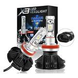 Luces Led Foco H4 H7 H11 9005 Garantia 1 Año No Ventilador