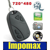 Impomax Mini Camara Espia 720 * 480 Llavero Carro Video 16gb