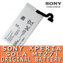 Batería Celular Sony Xperia Sola Wifi 3g Usb Mp3 Original Sd