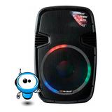 Potente Parlante Amplificado 15 Bluetooth Usb Radio 90000 W