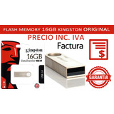 Flash Memory Kingston 16gb 100% Originales Precio Inc Iva***