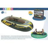 Bote Inflable Intex Seahawk + Remos + Inflador  Cm236¿114x41